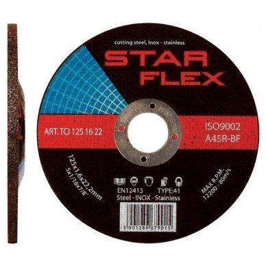 Šlifavimo diskas 125×6,0x22